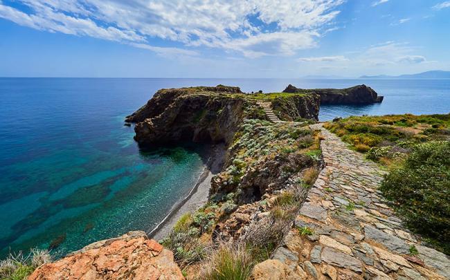 Punta Milazzese, Islas Eolias, Italia