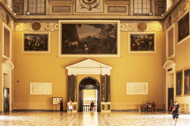 Museo Archeologico Nazionale, Nápoles, Italia