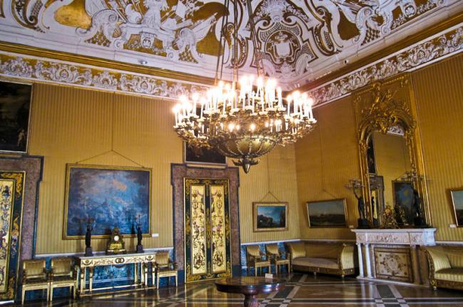 Palazzo Reale di Capodimonte, Nápoles, Italia