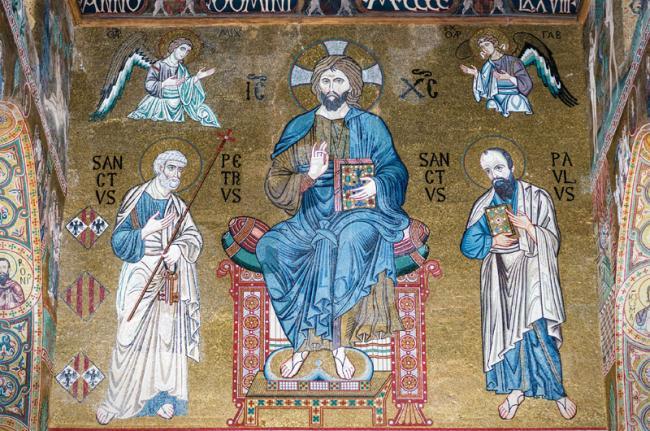 Mosaicos de la Capilla Palatina, Palermo