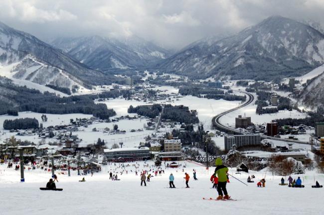 Esquí, Japón