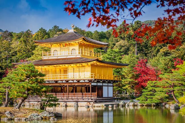 Kinkaku-ji, Kioto, Japón