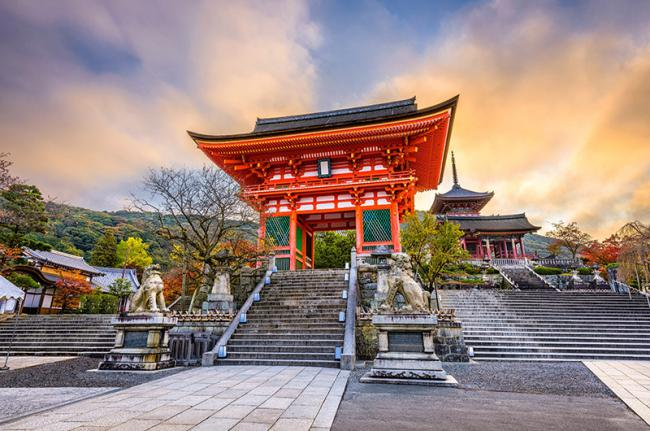 Kiyomizu-dera, Kioto, Japón