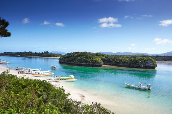 Playas y bosques de las islas del Suroeste, Japón