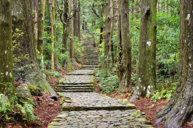 Antiguas rutas de peregrinaje, Japón