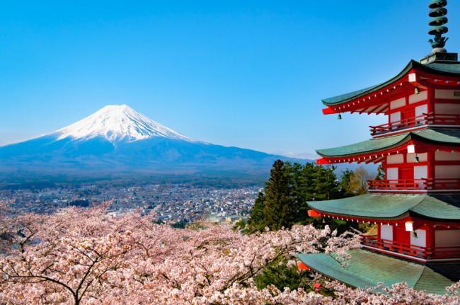Monte Fuji, Tokil, Japón