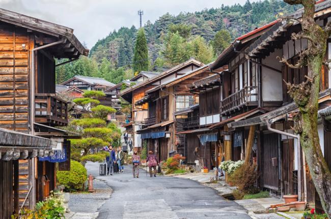 Tsumago, Japón
