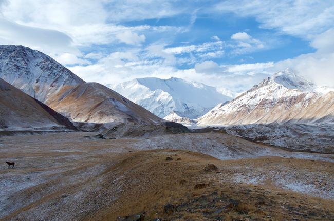 Valle de Alay, Kirguistán