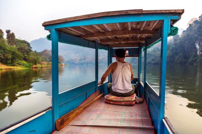 Río Mekong, Laos