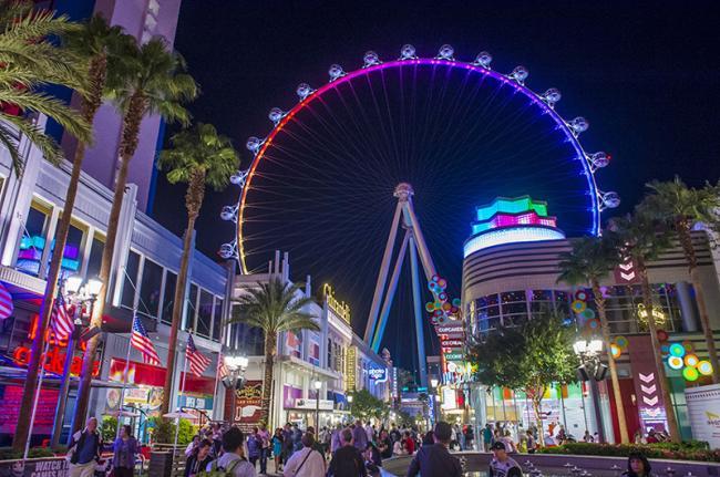 LINQ Promenade, Las Vegas, EE UU
