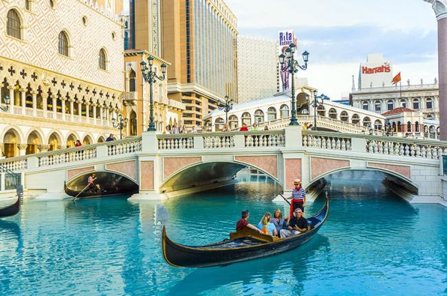 Venetian Hotel, Las Vegas, EE UU
