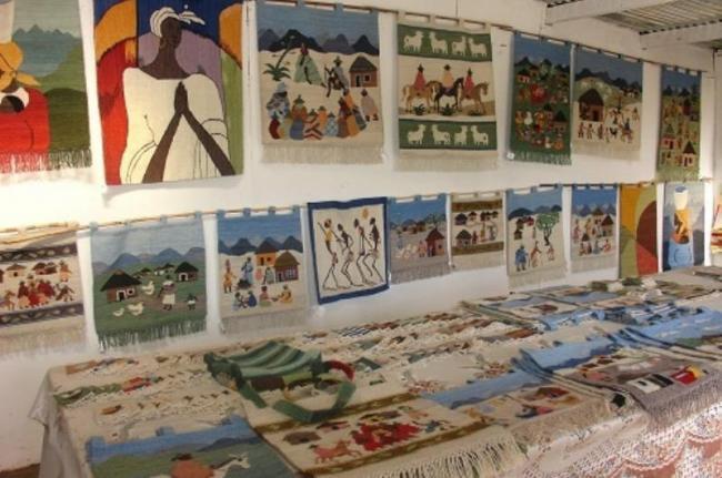 Artesanía en Teyateyaneng, Lesoto