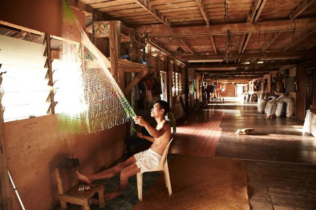'Longhouses', Batang Ai, Malasia