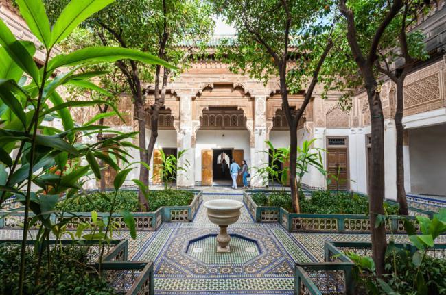 Palacio de la Bahía, Marrakech, Marruecos