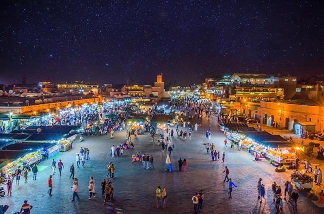 Yamaa el Fna, Marrakech, Marruecos