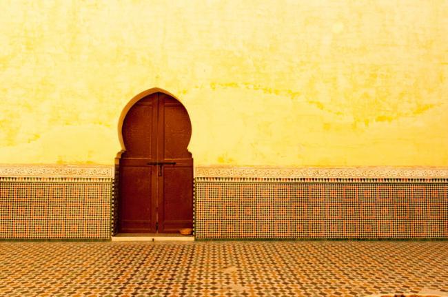 Mausoleo de Mulay Ismail, Mequínez, Marruecos