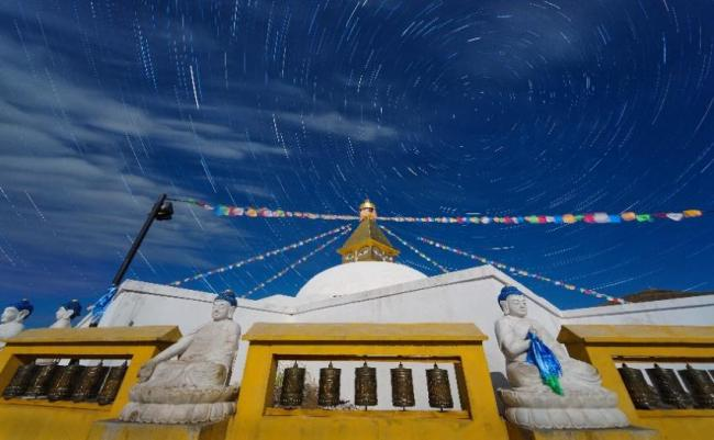 Monasterio Amarbayasgalant Khiid, Mongolia.