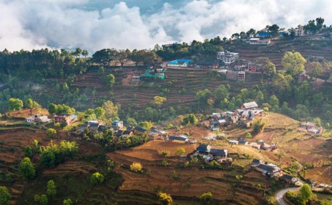 Aldea de Bandipur, Nepal.