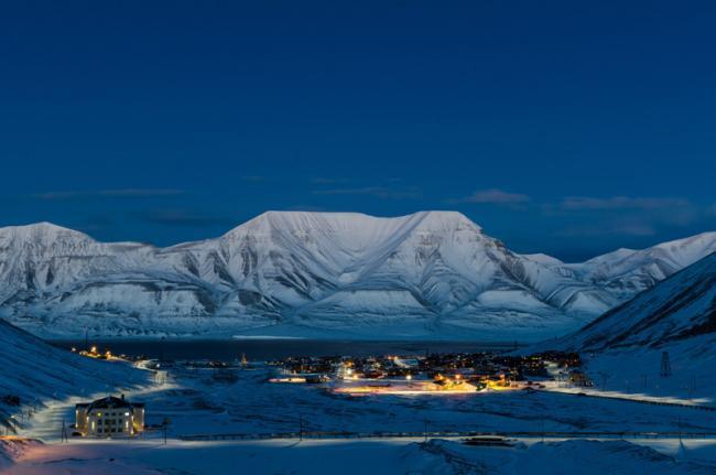 Longyearbyen, archipiélago de Svalbard, Noruega