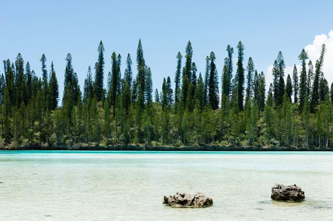Piscina natural, Nueva Caledonia