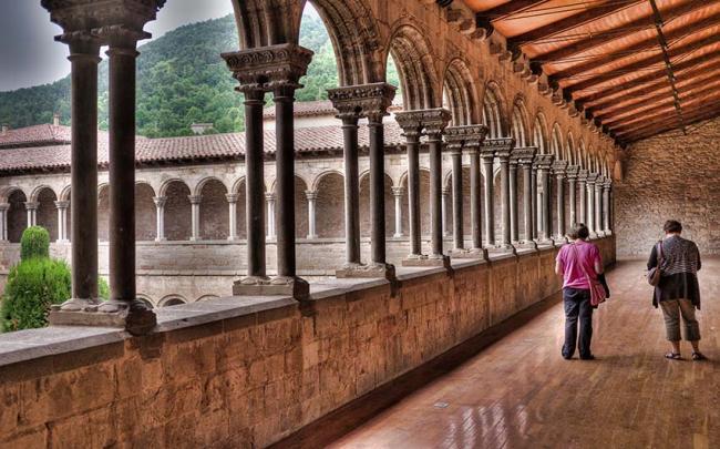 Monasterio de Santa Maria de Ripoll, Cataluña, España