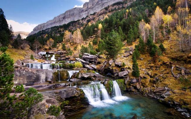 Las Gradas de Soaso, Parque Nacional de Ordesa y Monte Perdido, Pirineo aragonés, España
