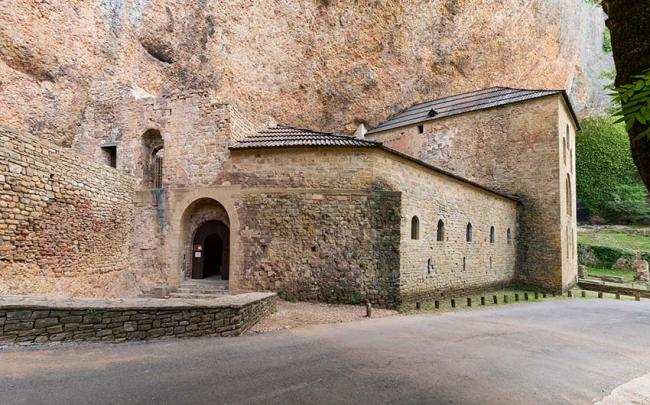 Real Monasterio de San Juan de la Peña, Jaca, España