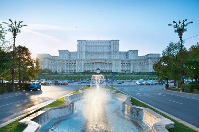 Palacio del Parlamento, Bucarest, Rumanía