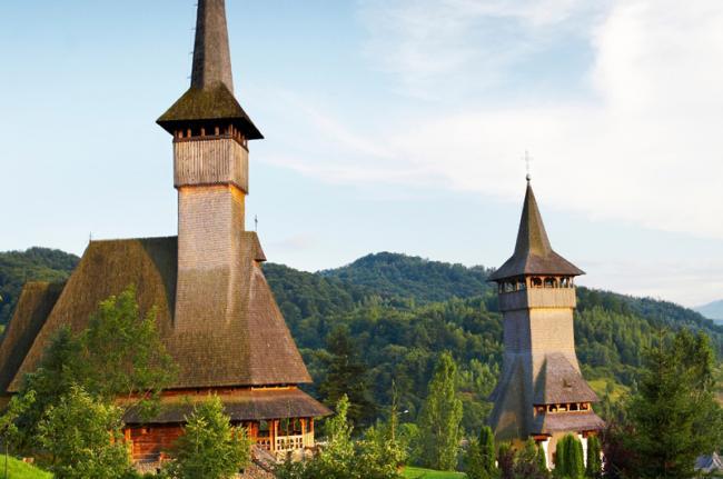 Iglesias de madera de Bârsana, Maramureş, Rumanía