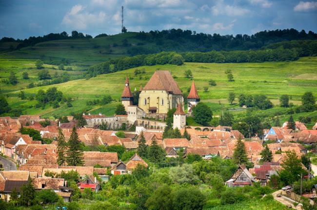 Biertan, pueblo sajón, Rumanía