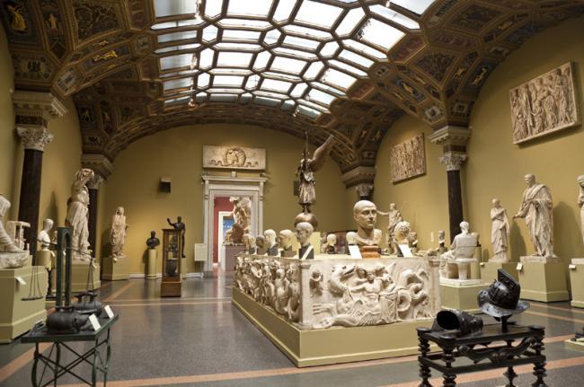 Museo Pushkin de Bellas Artes, Moscú, Rusia