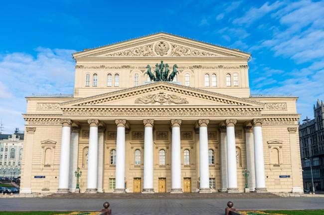 Teatro Bolshói, Moscú, Rusia