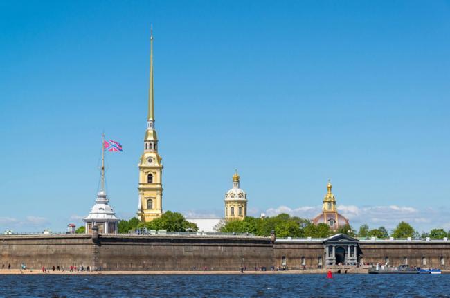 Fortaleza de San Pedro y San Pablo, San Petersburgo, Rusia