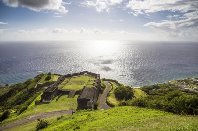 Fortaleza de Brimstone Hill, San Cristóbal y Nieves