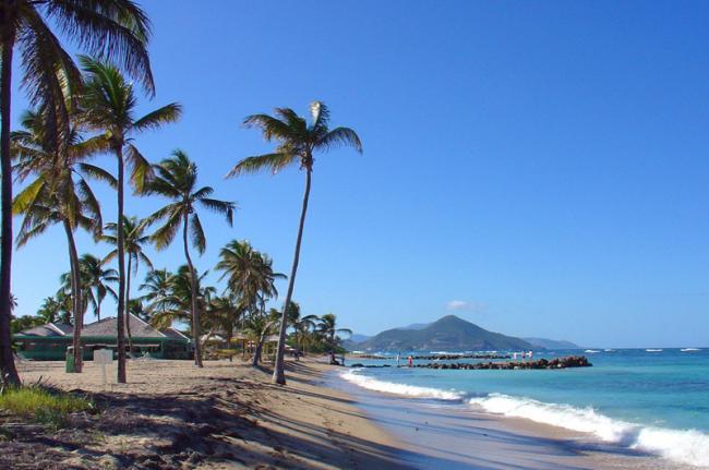 Nisbet Beach, San Cristóbal y Nieves