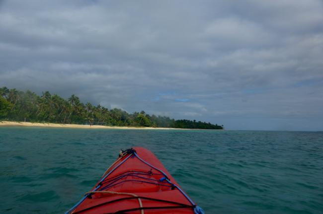 Kayak marino en Tonga