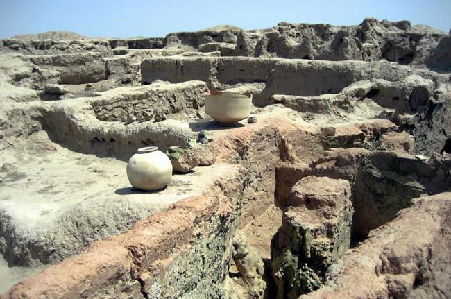 Ruinas de Gonur Depe, Turkmenistán, Asia Central