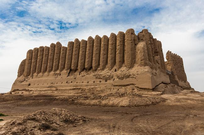 Kyz Kala, Merv, la Ruta de la Seda, Turkmenistán, Asia Central