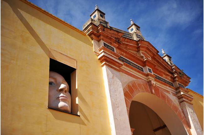 Monasterio de Santa María de las Cuevas, Centro de Arte Contemporáneo de Sevilla, Andalucía, España