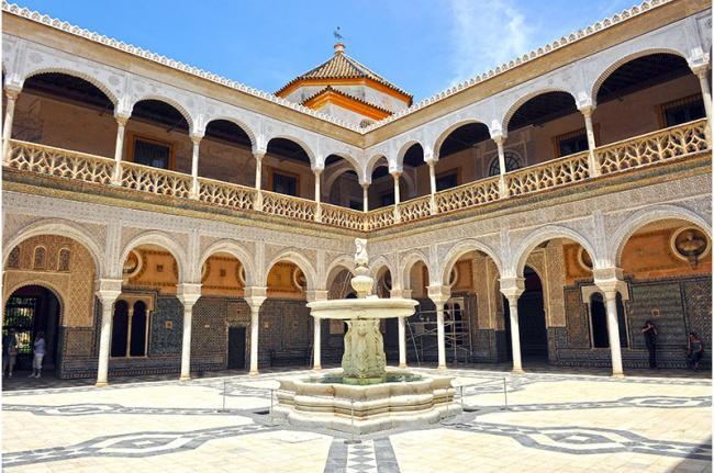 Casa Pilatos, Sevilla, Andalucía, España