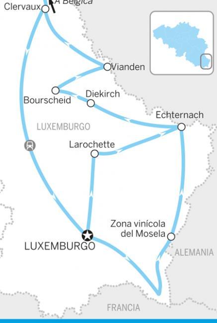 Itinerario Luxemburgo encantador
