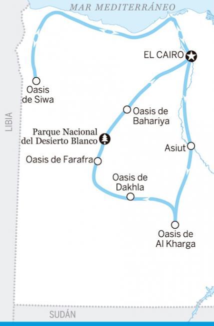 Itinerario Escapada al desierto, Egipto