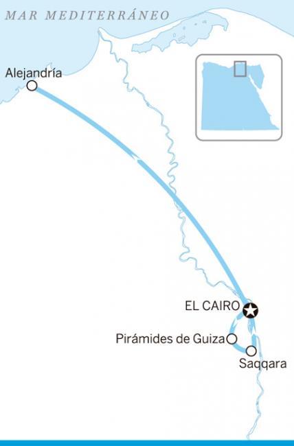 Itinerario Ruta urbana, Egipto