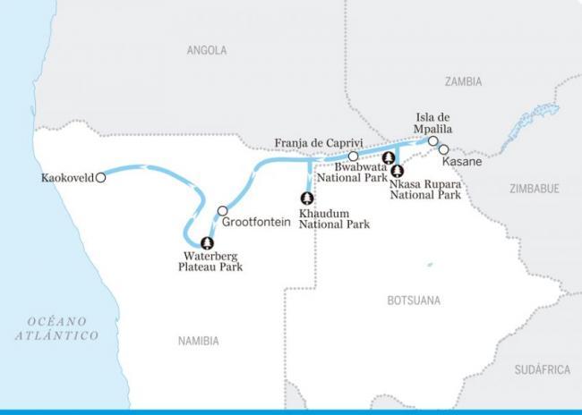 De Caprivi al Kaokoveld