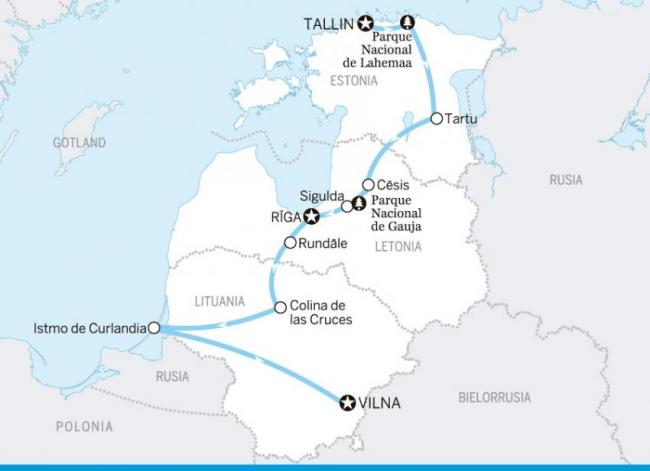 Lo mejor del Báltico: Estonia, Letonia, Lituania
