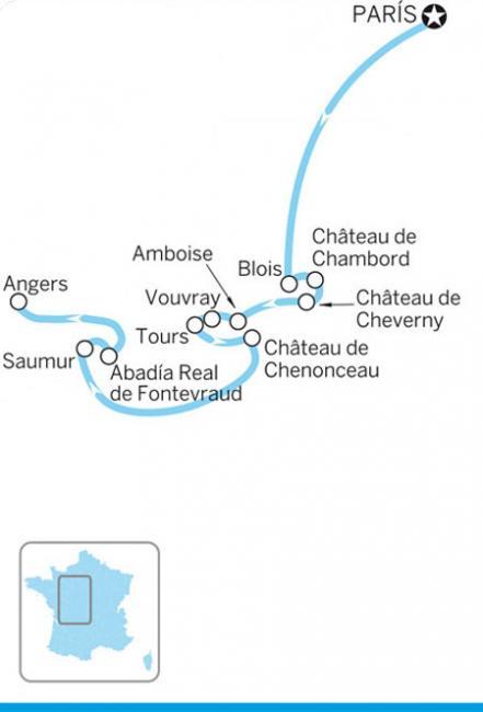 Por el valle del Loira