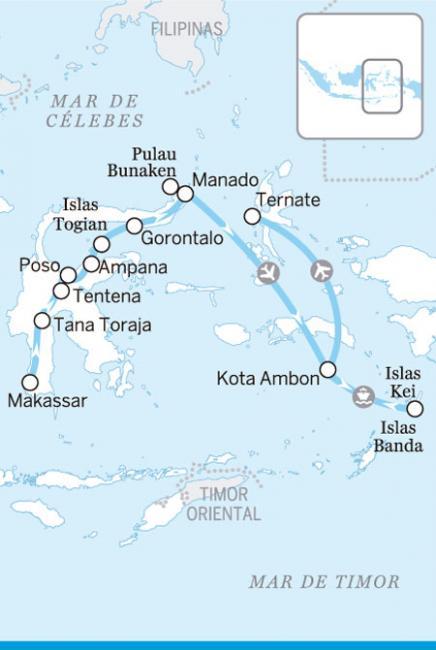 Sulawesi y Molucas