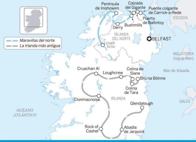 La Irlanda más antigua