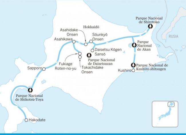 Maravillas naturales de Hokkaidō