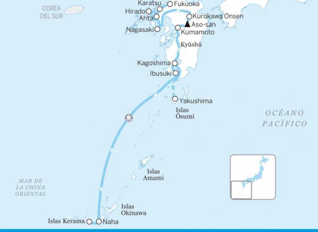 Kyūshū y Okinawa